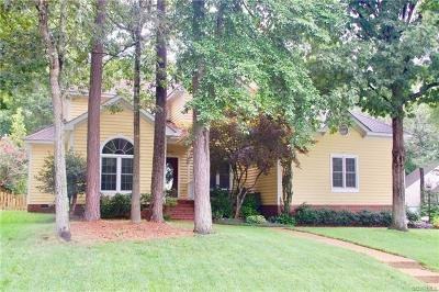 Henrico Single Family Home For Sale: 3612 Riverchase Court