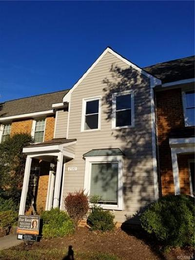 Henrico County Rental For Rent: 2530 Straw Bridge Chase East