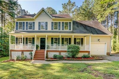 Powhatan County Single Family Home For Sale: 3967 Running Fox Court