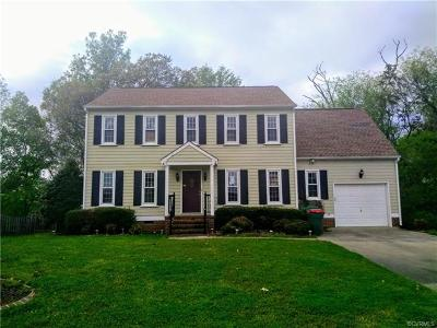 Colonial Heights VA Single Family Home For Sale: $175,900