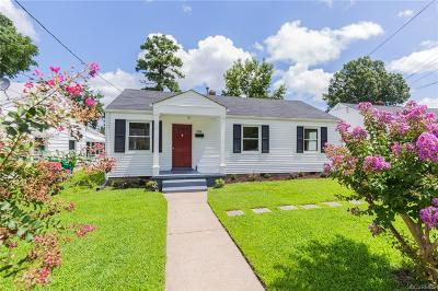 Colonial Heights Single Family Home For Sale: 504 Battery Place