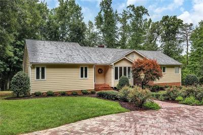 Powhatan Single Family Home For Sale: 2980 Genito Road