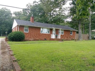 Chesterfield Single Family Home For Sale: 4126 Turner Road