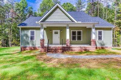 Goochland County Single Family Home For Sale: 3762 County Line Road