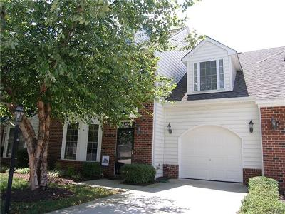 Midlothian Condo/Townhouse For Sale: 5202 Creek Heights Drive