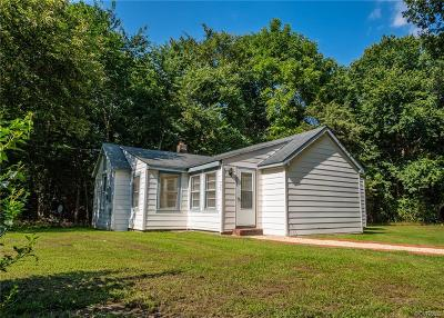 Powhatan VA Single Family Home For Sale: $129,950