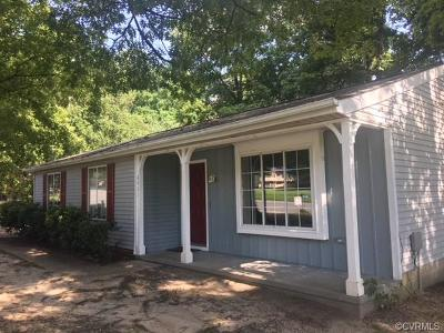 Chesterfield Single Family Home For Sale: 6901 Able Road