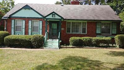 Henrico Single Family Home For Sale: 8716 Rolando Drive