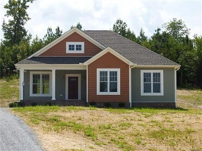 Nottoway County Single Family Home For Sale: 1210 Lakeside Drive