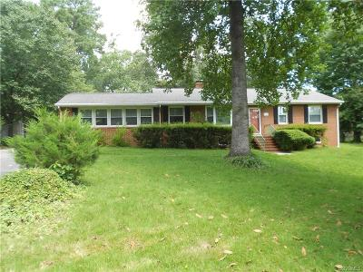 Henrico Single Family Home For Sale: 7716 Anoka Road