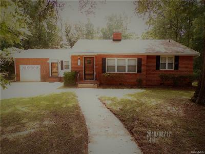 Chesterfield County Rental For Rent: 14616 Rivermont Road