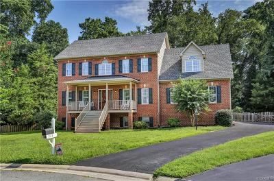 Glen Allen Single Family Home For Sale: 9113 Carrington Hills Court