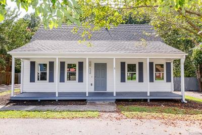 Dinwiddie Single Family Home For Sale: 3816 Elsie Drive