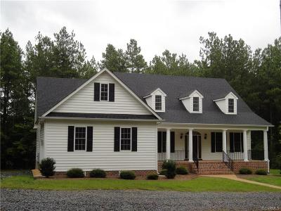 Powhatan Single Family Home For Sale: 6118 Autumn Bluff Road