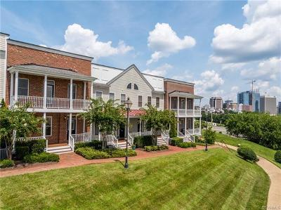 Richmond Condo/Townhouse For Sale: 721 South Pine Street #721