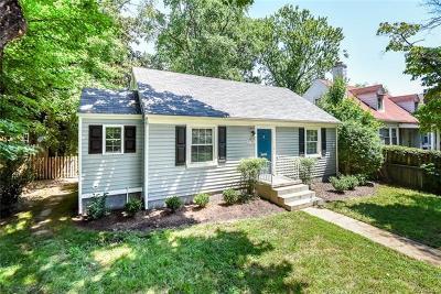 Richmond Single Family Home For Sale: 6718 Kensington Avenue