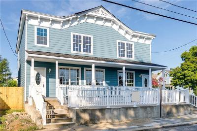 Richmond Single Family Home For Sale: 212 West 15th Street