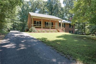 Midlothian Single Family Home For Sale: 4421 Old Hundred Road
