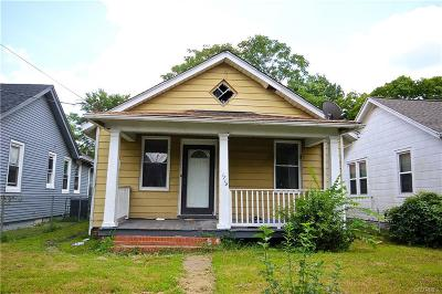 Richmond Single Family Home For Sale: 1715 North 23rd Street