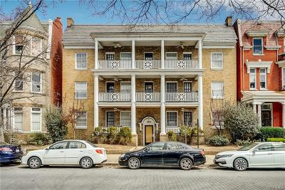 Richmond Condo/Townhouse For Sale: 1630 Monument Avenue #5