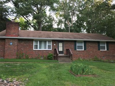 Chesterfield Single Family Home For Sale: 3101 Lifsey Lane
