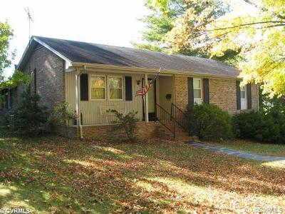 Nottoway County Single Family Home For Sale: 500 East Tennessee Avenue