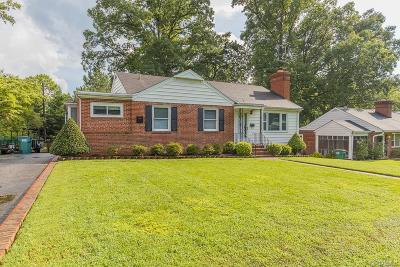 Henrico Single Family Home For Sale: 2807 Kenmore Road