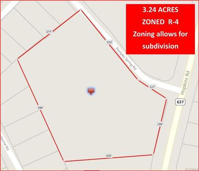 Residential Lots & Land For Sale: 2800 Hopkins Road