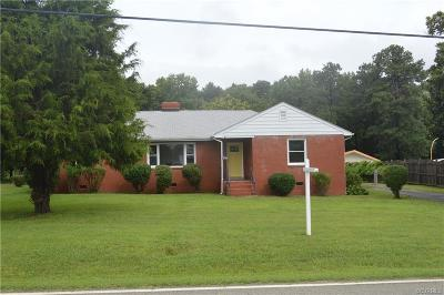 Henrico Single Family Home For Sale: 7040 Messer Road