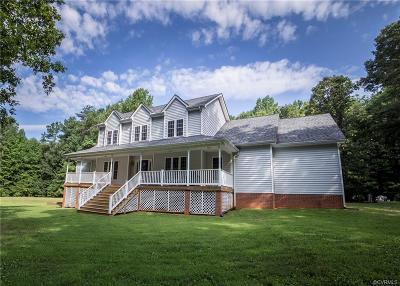 Powhatan Single Family Home For Sale: 2850 Manahoc Trail