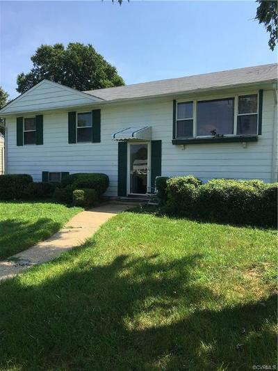 Henrico Single Family Home For Sale: 4819 Altair Road