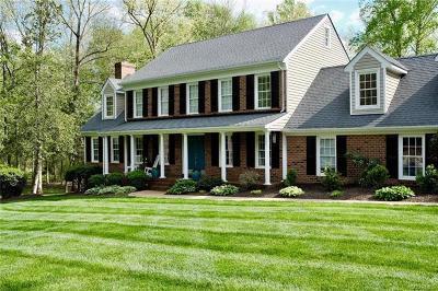 Chesterfield Single Family Home For Sale: 8501 Katy Reid Court
