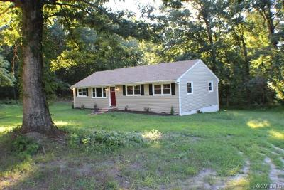 Dinwiddie Single Family Home For Sale: 5114 Front Drive