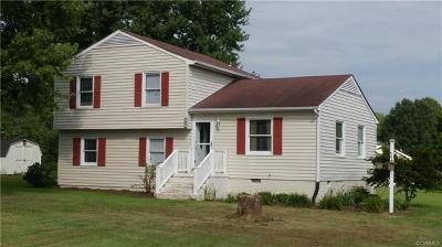 Aylett Single Family Home For Sale: 96 Manquin Drive