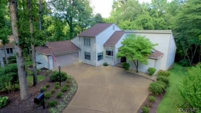 Chester Single Family Home For Sale: 13700 Harbour Bluff Court