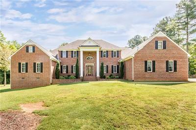 Dinwiddie Single Family Home For Sale: 11201 Baltimore Road