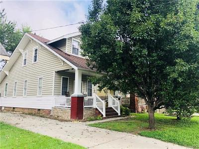Colonial Heights VA Single Family Home For Sale: $101,000