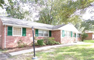 Chesterfield County Rental For Rent: 4809 Bonnie Brae Road