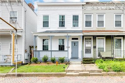 Richmond Single Family Home For Sale: 1611 West Cary Street