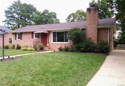 Colonial Heights VA Single Family Home For Sale: $179,950