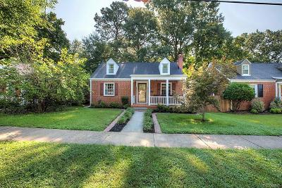Richmond Single Family Home For Sale: 813 West 49th Street