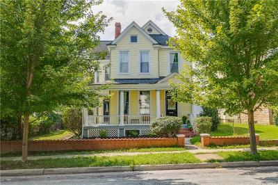 Richmond Single Family Home For Sale: 2114 Rose Avenue