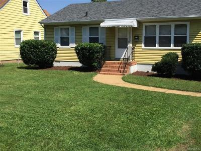 Henrico Single Family Home For Sale: 802 Ratcliffe Avenue