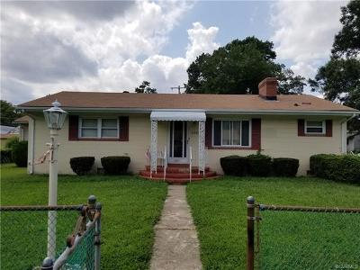 Richmond Single Family Home For Sale: 2902 Seibel Road