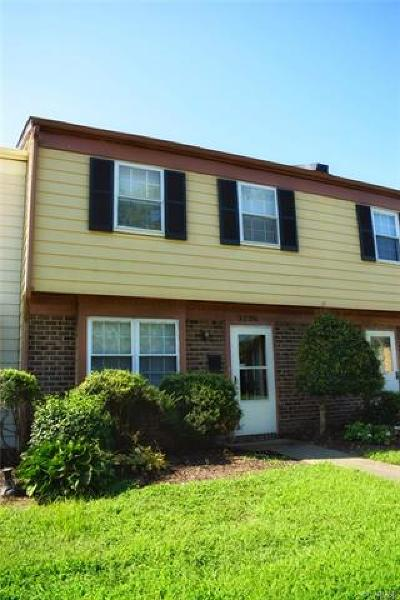 Henrico Single Family Home For Sale: 3206 Hunters Mill Circle