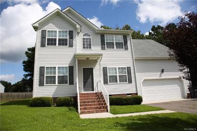 Chesterfield VA Single Family Home For Sale: $299,500