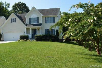Hopewell Single Family Home For Sale: 7813 Wind Rock Lane