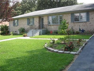Dinwiddie County Single Family Home For Sale: 4202 Orchard Drive