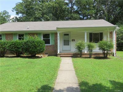 Petersburg Single Family Home For Sale: 2305 Walton Street