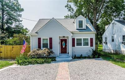 Henrico Single Family Home For Sale: 2605 Greenway Avenue
